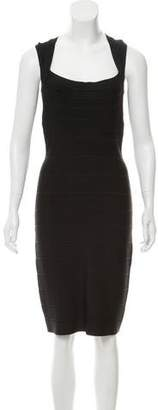 Herve Leger Bodycon Midi Dress