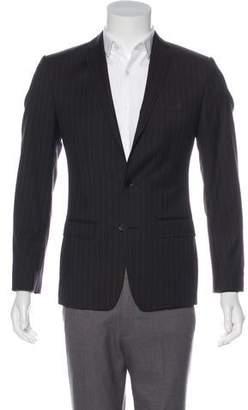 Dolce & Gabbana Martini Striped Virgin Wool Blazer