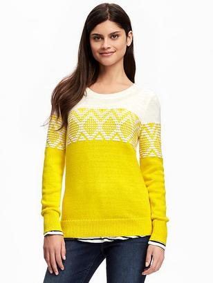 Fair Isle Sweater for Women $36.94 thestylecure.com