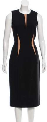 Michael Kors 2013 Virgin Wool-Blend Midi Dress w/ Tags