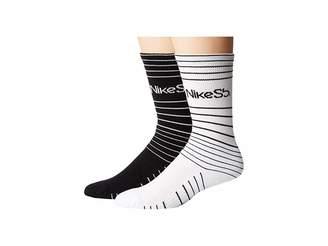 Nike Skateboarding Crew Socks 2-Pair Pack