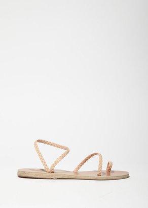 Ancient Greek Sandals Eleftheria Sandals $250 thestylecure.com