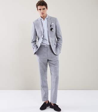 Reiss AMATRICE T MODERN FIT TROUSERS Soft Blue