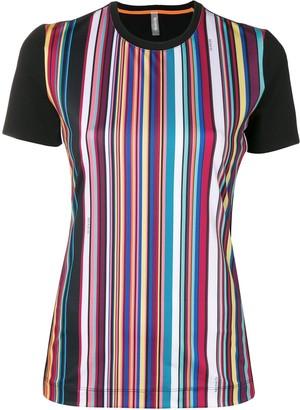 NO KA 'OI No Ka' Oi striped short-sleeve T-shirt