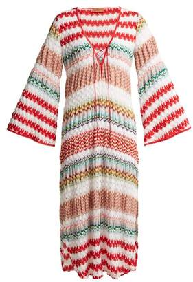 Missoni Mare - Crochet Knit Kaftan - Womens - Red White