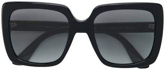 Gucci mass large square sunglasses