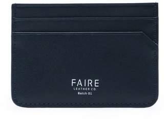 Faire Leather Co. Specter Vt Slim Cardholder Navy