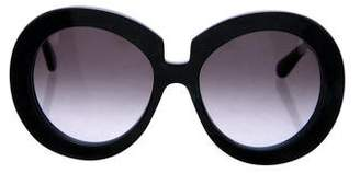 Valentino Camou Butterfly Sunglasses