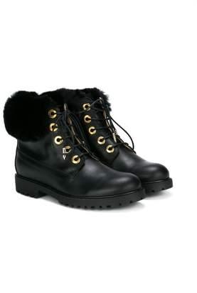Aquazzura Mini lace up ankle boots