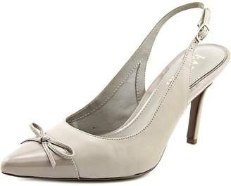 Lauren Ralph Lauren Lauren by Ralph Lauren Sienna Women US 6 Gray Slingback Heel