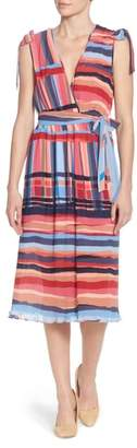 Catherine Malandrino Micropleat Dress