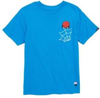Vans x Marvel(R) Avengers Spider-Man(TM) Pocket T-Shirt