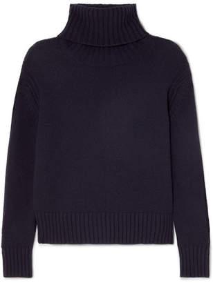 &Daughter Roshin Wool Turtleneck Sweater - Navy
