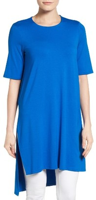 Women's Eileen Fisher Jersey Tunic Top $158 thestylecure.com