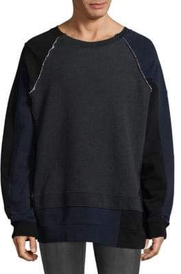 Maison Margiela Mock Layered Sweatshirt