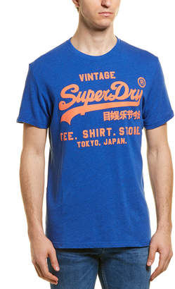 Superdry Shirt Shop Graphic Print T-Shirt