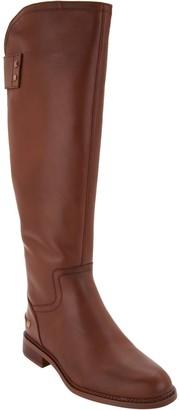 Franco Sarto Leather Medium Calf Tall Boots - Henrietta