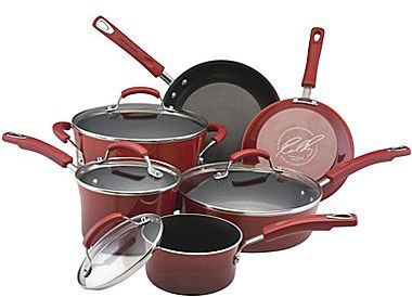 Rachael Ray 10-pc. Porcelain Cookware Set