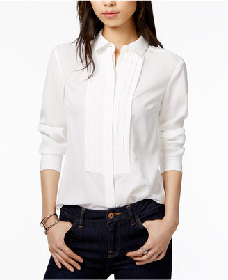 Tommy Hilfiger Tuxedo Shirt, Only at Macy's $69.50 thestylecure.com