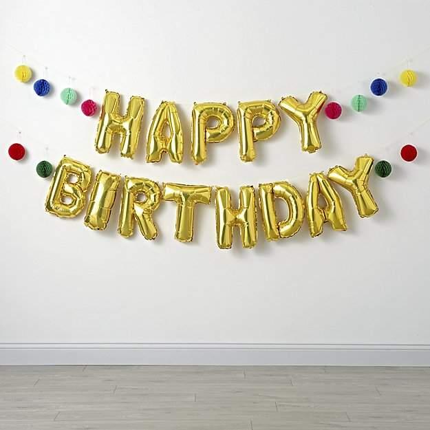 Birthday Balloon Garland Kit