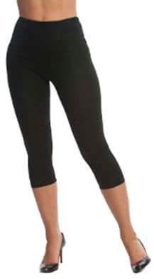 b8528ea3c3ab44 Lysse Capri Stretch Cotton Shaping Leggings