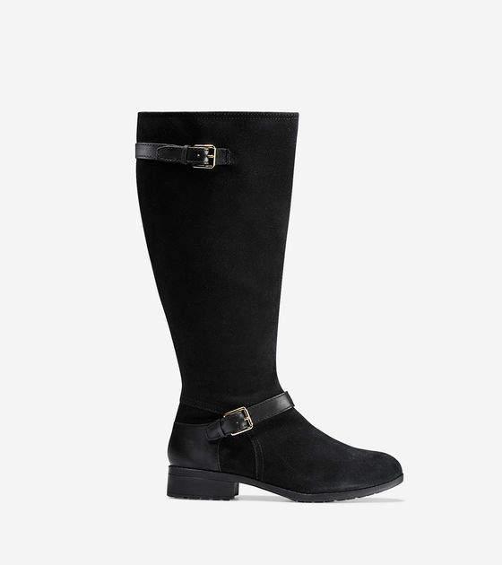 Cole Haan Marla Waterproof Tall Boot (30mm) - Extended Calf
