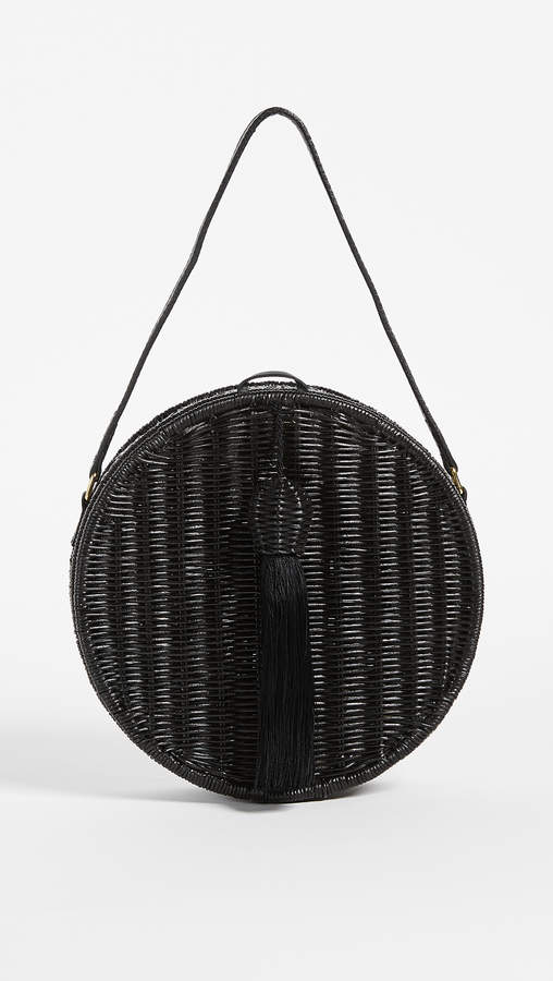 Serpui Marie Destiny Wicker Clutch