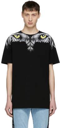 Marcelo Burlon County of Milan Black Eye Wing T-Shirt