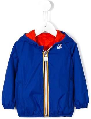 K Way Kids reversible padded hooded jacket