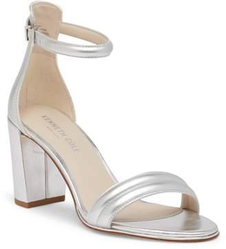 Kenneth Cole New York Lex Open Toe Metallic Sandal