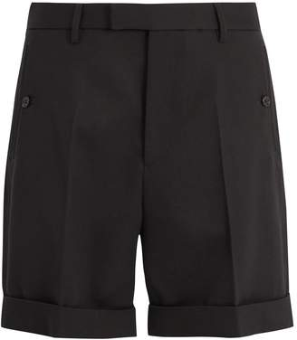 Gucci Tailored cotton-twill shorts