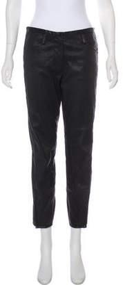 3.1 Phillip Lim Leather Mid-Rise Pants