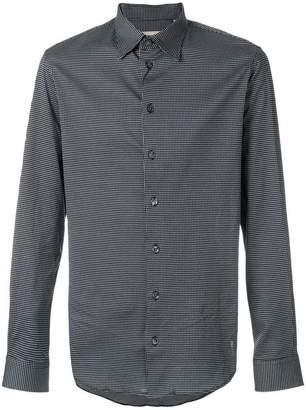 Armani Collezioni classic printed shirt