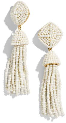 BaubleBar Rubina Beaded Tassel Earrings