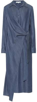Tibi Chambray shirt dress
