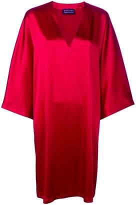 Gianluca Capannolo long-sleeve flared dress