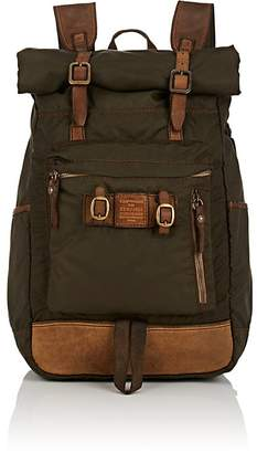 Campomaggi Men's Leather-Trimmed Backpack