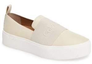 Women's Calvin Klein Jacinta Platform Sneaker $108.95 thestylecure.com
