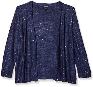 Jones New York Women's Sequin Tunic Sweater
