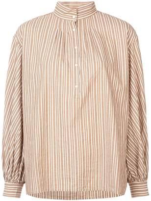 Nili Lotan stand-up neck shirt