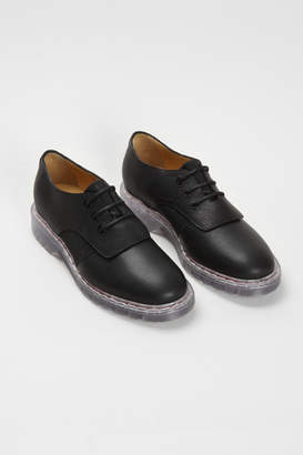 MM6 MAISON MARGIELA Leather Oxford With Clear Rubber Sole