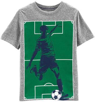 b2bf15601 Carter's Boys Round Neck Short Sleeve Graphic T-Shirt Preschool / Big Kid
