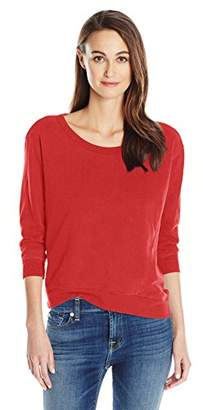 Wilt Women's Shrunken Crop Sweatshirt Foundation