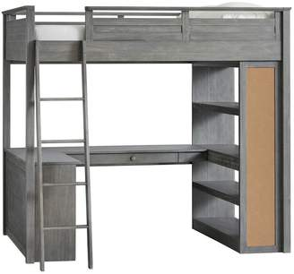 Pottery Barn Teen Sleep + Study Loft