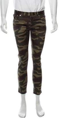 Christian Dior Camouflage Skinny Pants