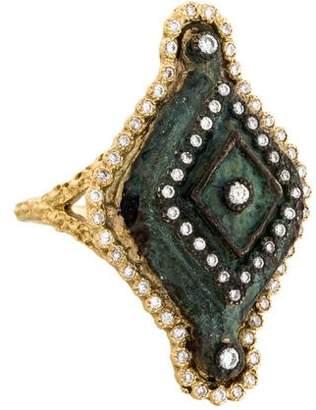 Armenta New World Diamond Artifact Ring