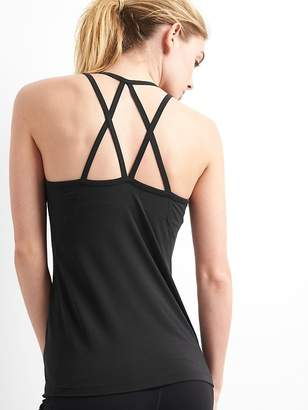 Gap Breathe Strappy Shelf Tank Top