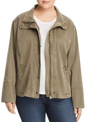 Lucky Brand Plus Vicky Utility Jacket