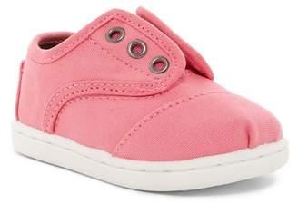 Toms Bubblegum Pink Canvas Cordones Sneaker (Toddler & Little Kid)