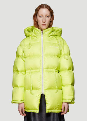 Acne Studios Down Jacket in Yellow